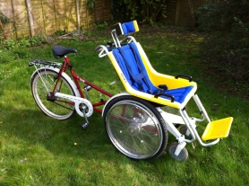 Duet Tandem Wheelchair Cycle